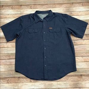 Orvis Blue Casual Shirt